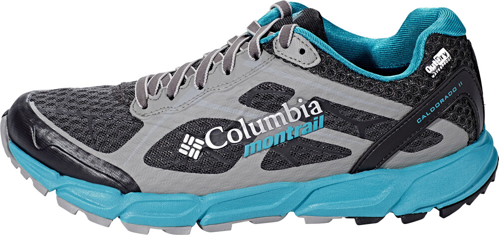 Columbia Caldorado II Outdry Shoes Women dark grey/sea level US 6 zmfsBT
